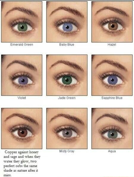 Blue Eye Color Colors Hazel Natural Contact Lenses