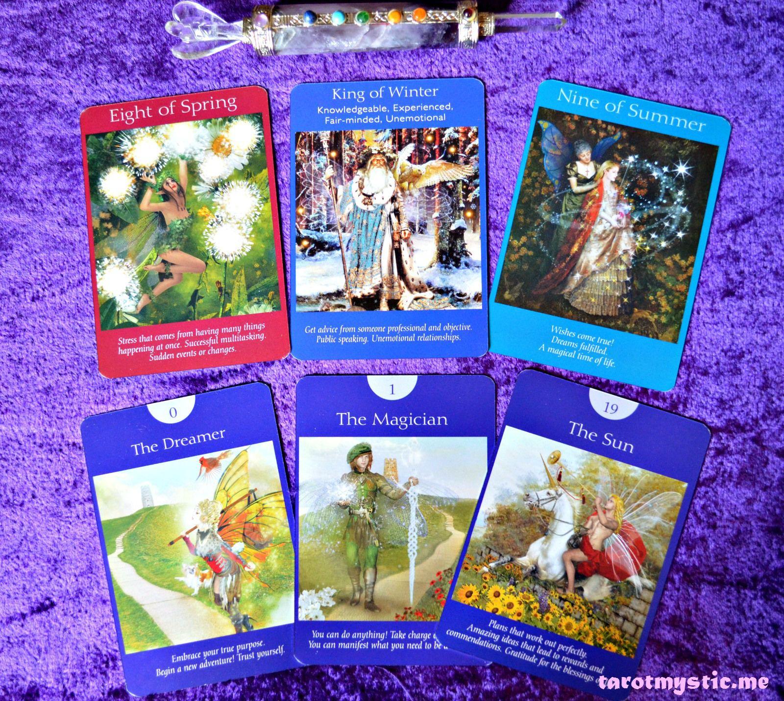 Doreen virtues fairy tarot deck