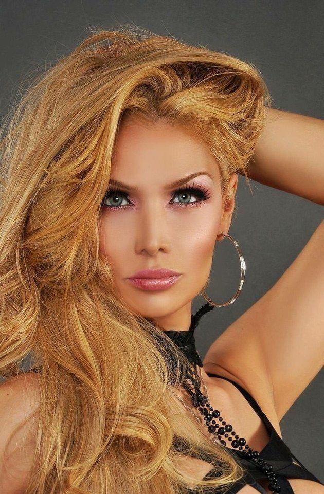 Blonde Transgender Model