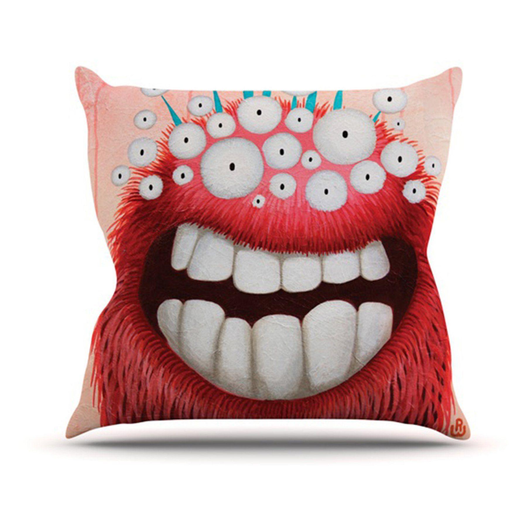 Kess Inhouse Rachel Kokko The Lookout Indooroutdoor Throw Pillow