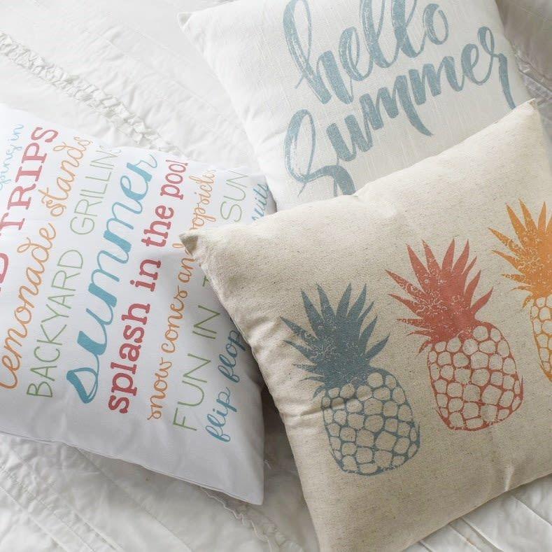 summer pillow covers summer pillows