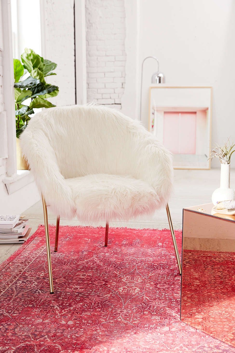 Faux Fur Chair | Interior Design | Pinterest | Occasional chairs ...