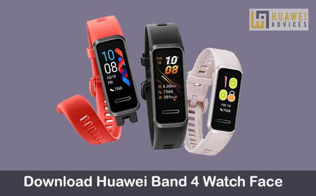 Download And Apply Huawei Band 4 Watch Face Huawei Advices In 2020 Watch Faces Face Health App