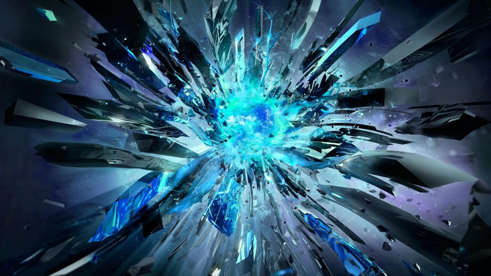 Download Blue Core Explosion Wallpaper In 3d Abstract Wallpapers Abstract Wallpaper Abstract Desktop Backgrounds Abstract Images