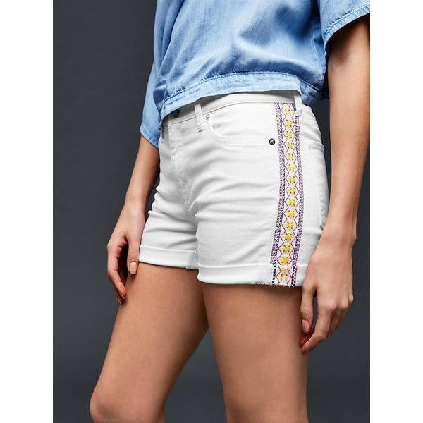 + Gap Women AUTHENTIC 1969 Embroidered Summer Shorts