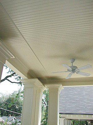 Vinyl Soffit Porch Ceiling Exterior Porch Ceiling