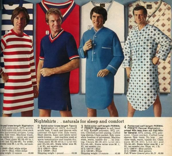 70s fashions and fads