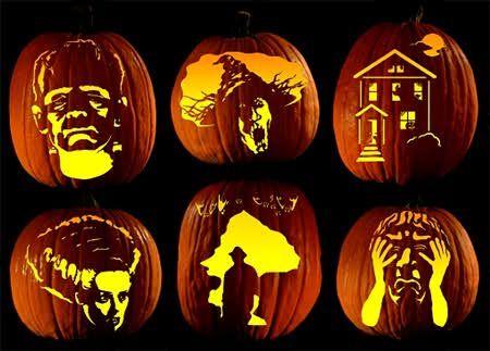 pumpkin template hard  hard pumpkin carving ideas - Google Search | Scary pumpkin ...