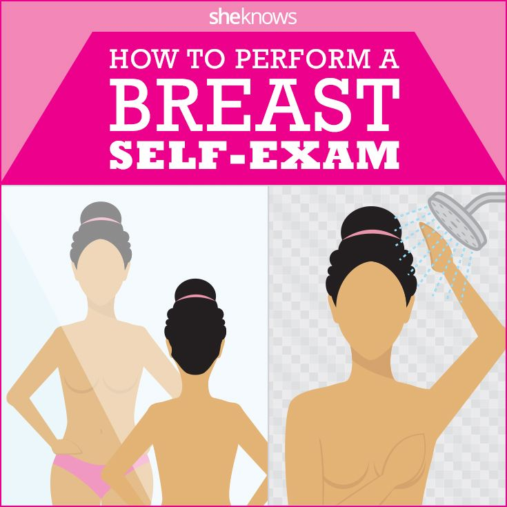 exam at breast