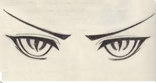 Image Result For Angry Anime Eyes Drawings In 2019 Pinterest
