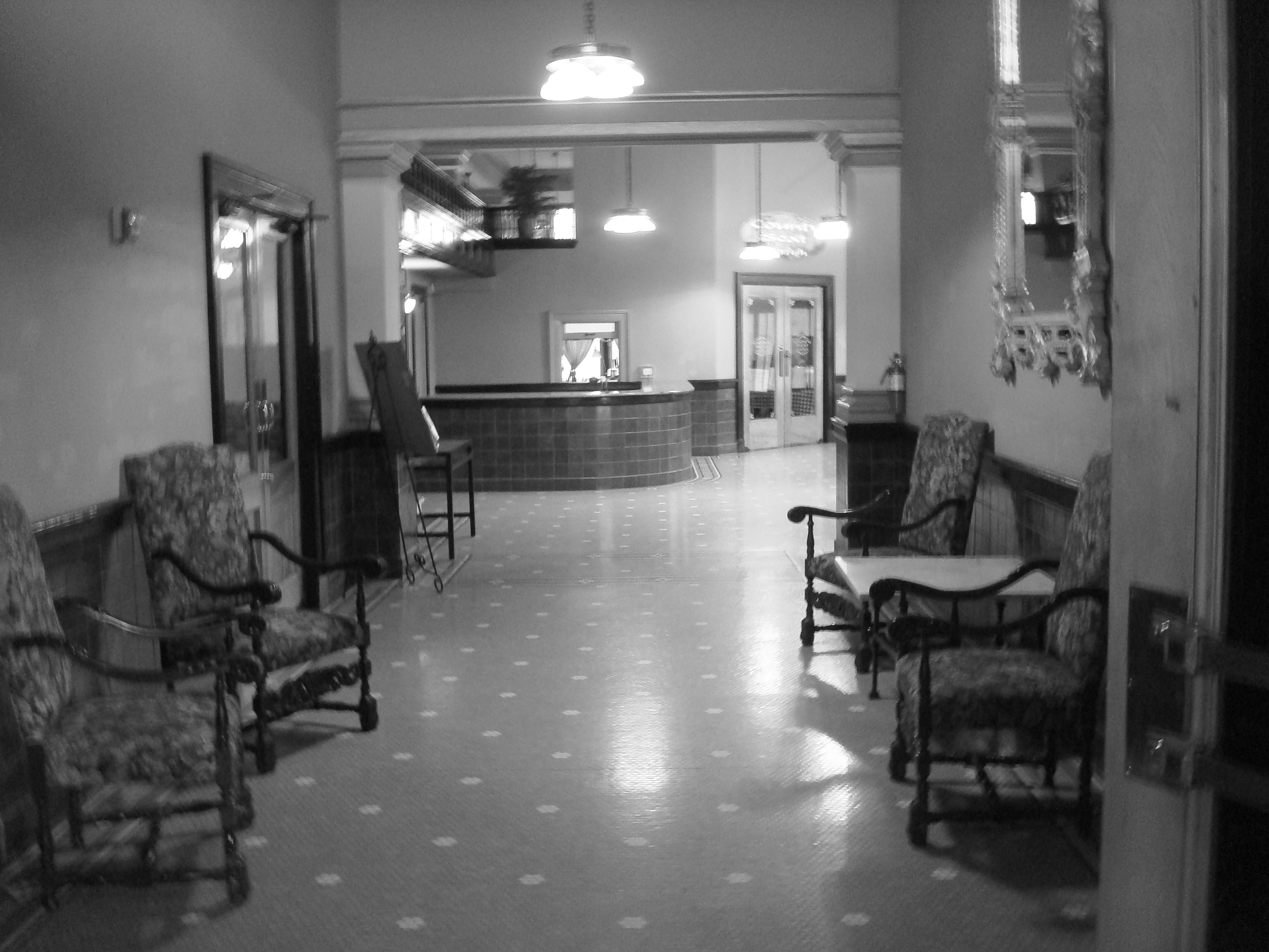 Interior Of The Rogers Hotel Waxahachie Texas July 2017