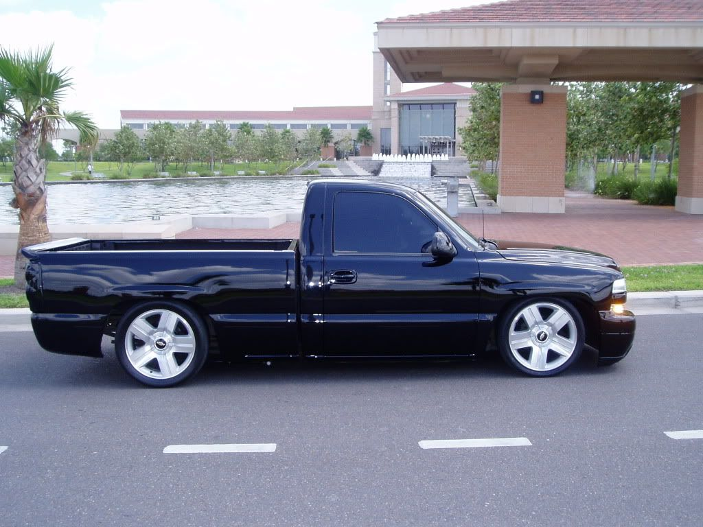 hight resolution of silverado lowered on factory wheels page 2 performancetrucks net forums