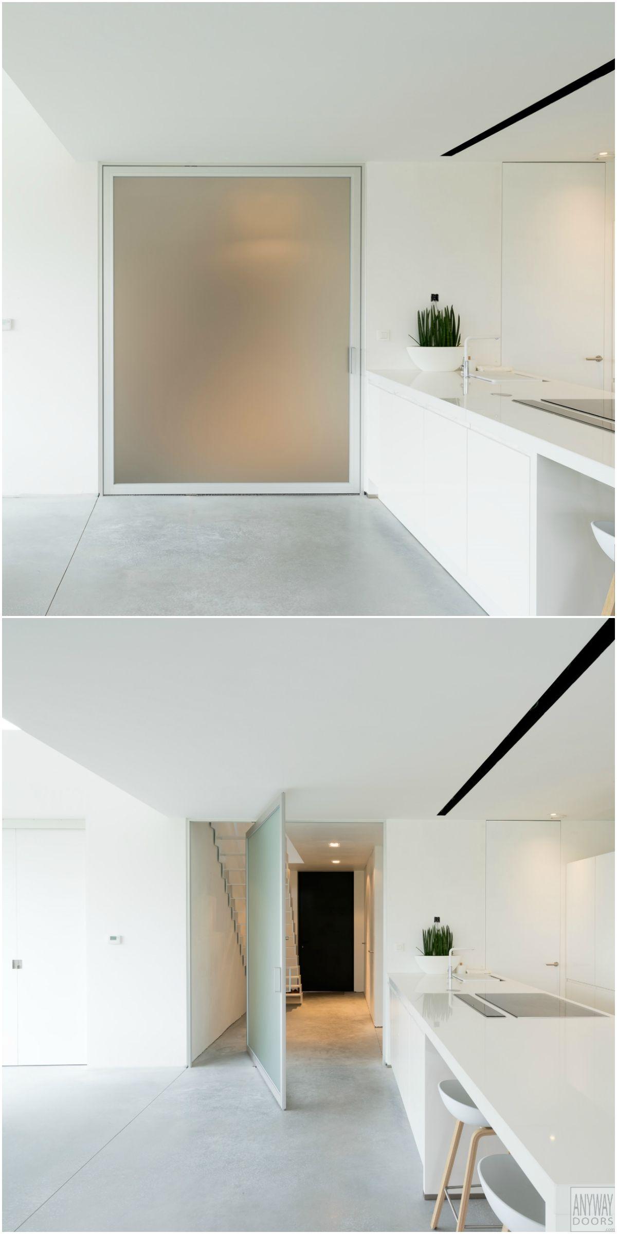 porte int rieure vitr e sur pivot m02 portes vitr es int rieures portes et porte vitr e. Black Bedroom Furniture Sets. Home Design Ideas