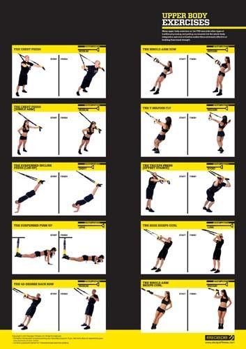 TRX Upper body exercises