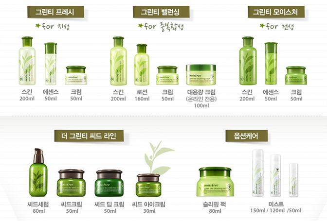 Review Innisfree Green Tea Balancing Moisture Line Innisfree Skincare Innisfree Skin Lotion
