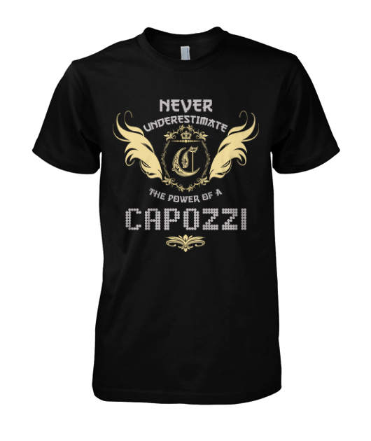 Multiple colors, sizes & styles available!!! Buy 2 or more and Save Money!!! ORDER HERE NOW >>> https://sites.google.com/site/yourowntshirts/capozzi-tee