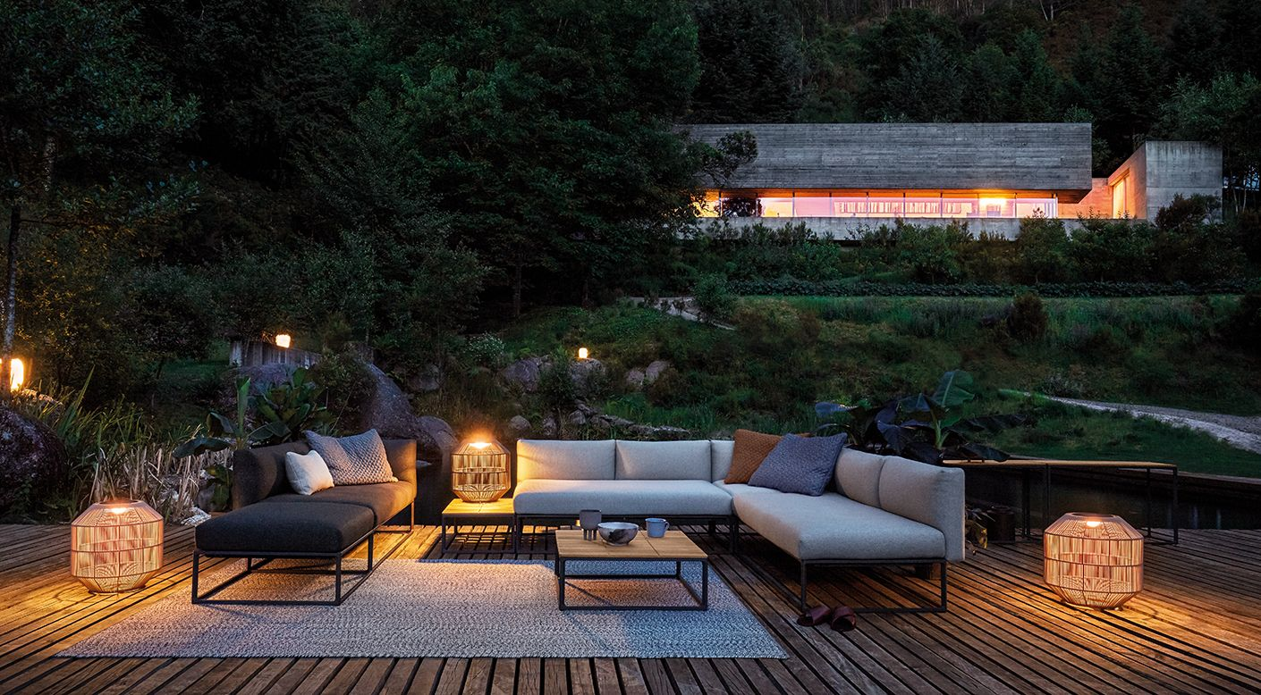 Gloster Ambient Collection Modern Luxury Outdoor