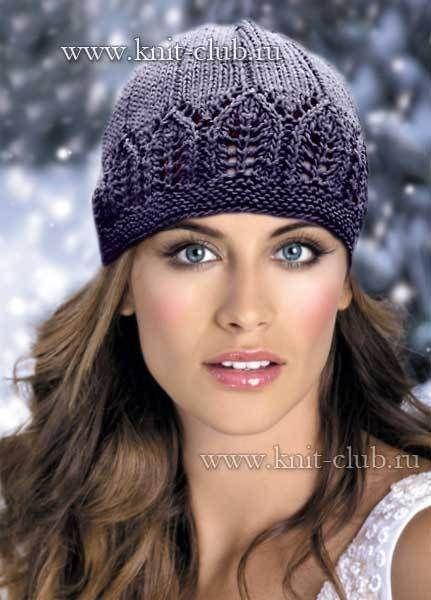 Вязание шапка самое интересное в блогах