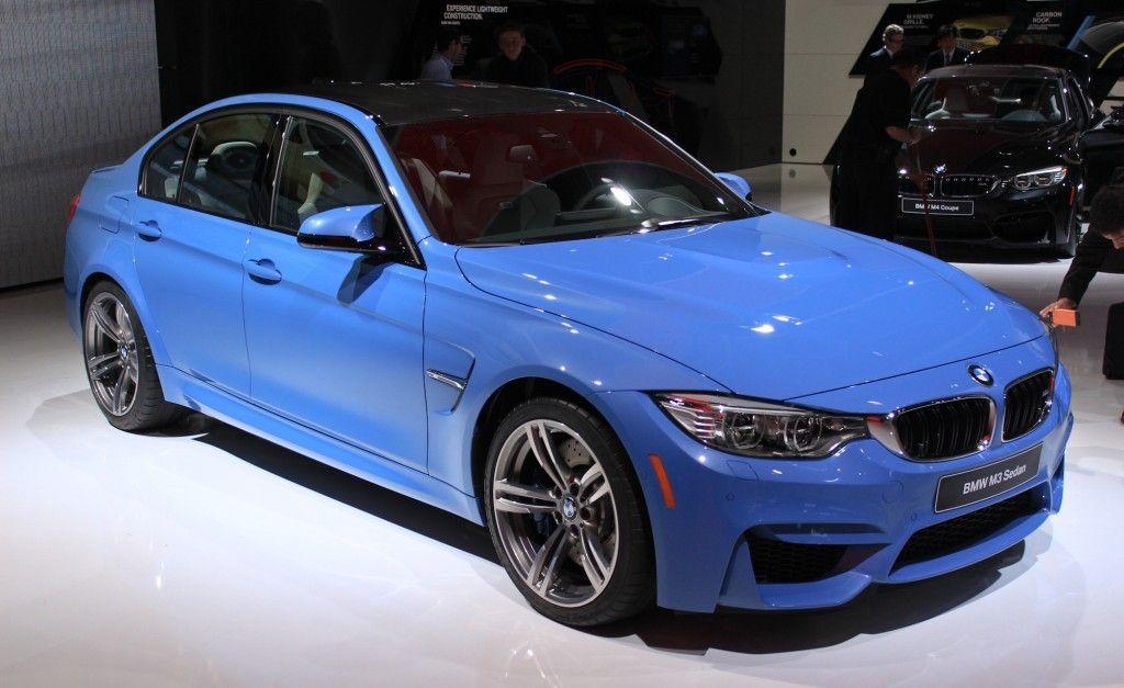 2015 BMW M3 Sedan & M4 Coupe Preview & Live Photos