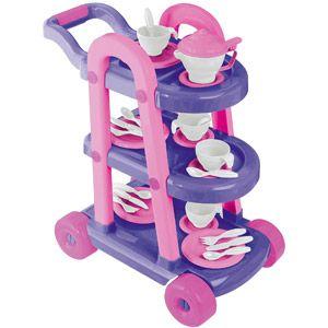 Superb American Plastic Toys My Very Own Tea Cart Set 26 Pieces Download Free Architecture Designs Lukepmadebymaigaardcom