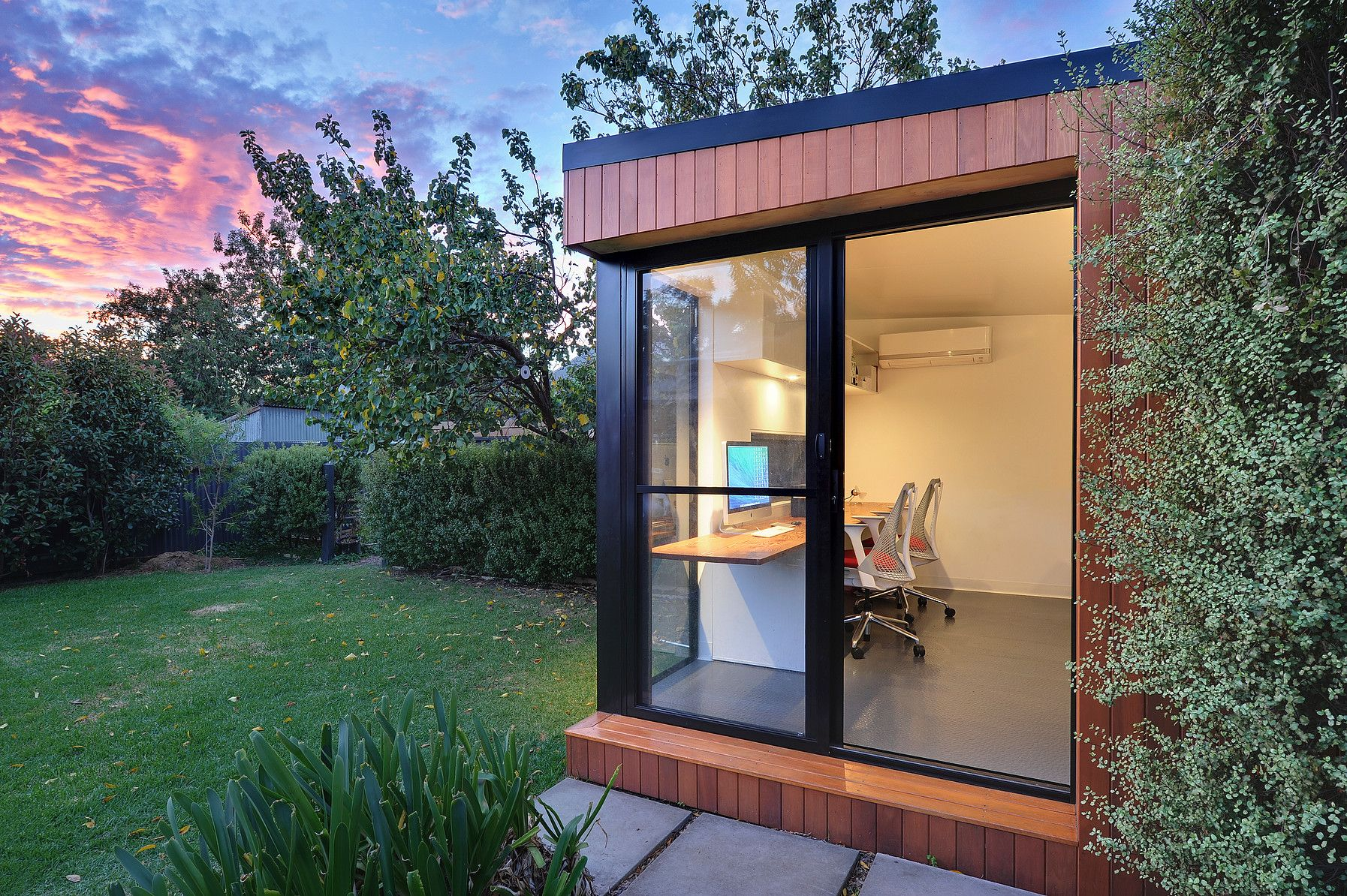 tiny backyard home office. Inoutside Is An Australian Company That Specializes In Pre-fabricated Backyard Offices. Tiny Home Office I