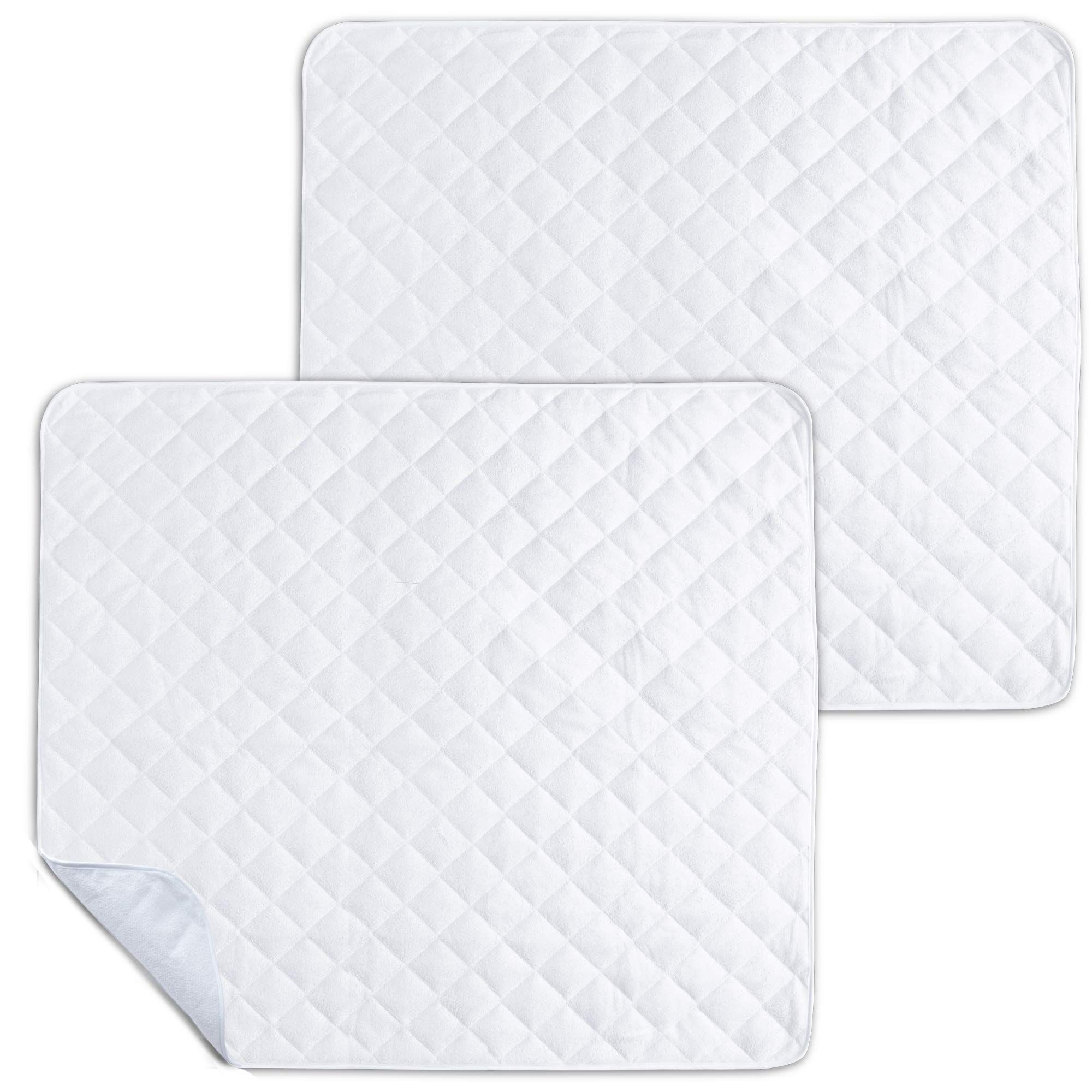 2 Pack Waterproof Bed Pads Mattress and Chair Protective