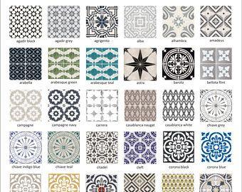 Tegel stickers - tegels voor de keuken/badkamer terug splash - vloer ...