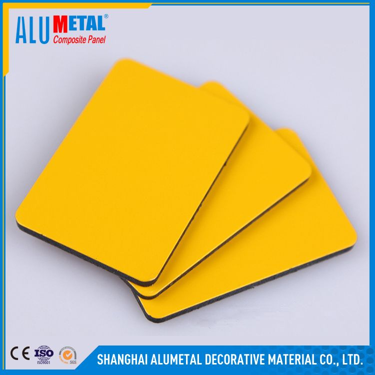 PVDF and PE FIREPROOF ACP rv building materials faux stone