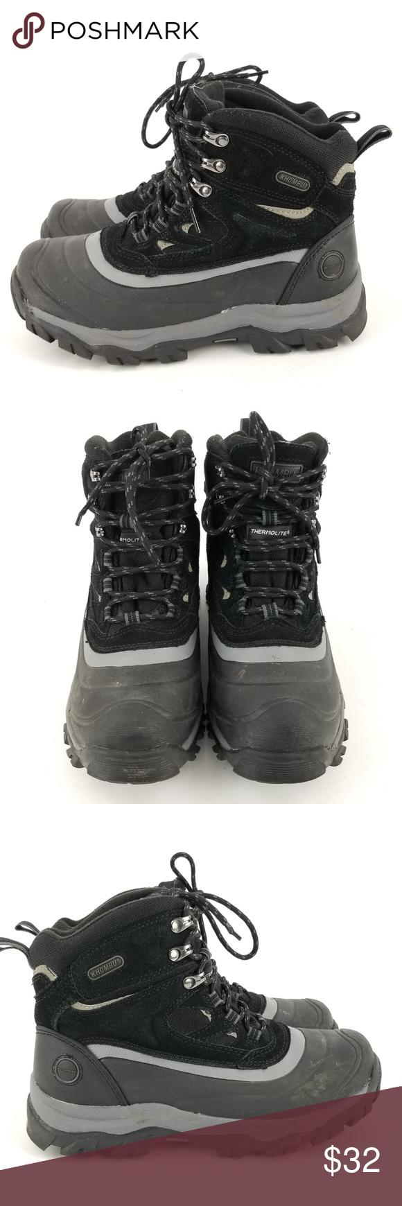 6e4ce3564d5 Khombu Men's Flume Hiking Winter Snow Boots 9 EB29 Khombu Men's ...