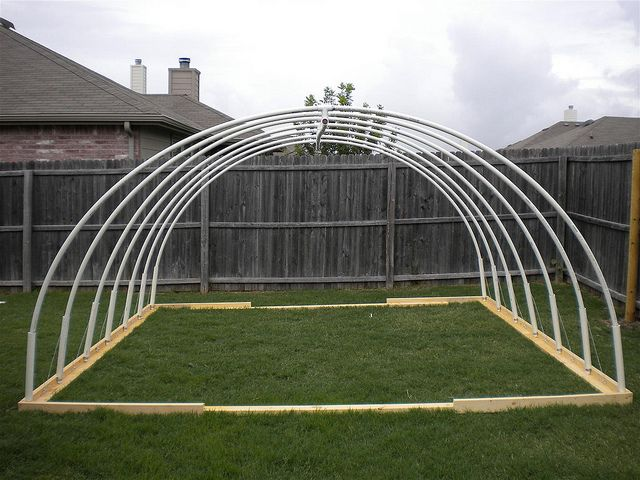 12 X 13 Pvc Vegetable Greenhouse Frame Greenhouse Frame Greenhouse Plans Backyard Canopy