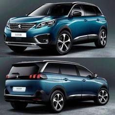 Peugeot 5008 2017 Esse E O Suv De Grande Porte E 7 Lugares Da Peugeot Vai Completar A Familia De 2008 E 3008 Ha Tambem O 4008 Nome Que O 3008 Vai Adota Peugeot