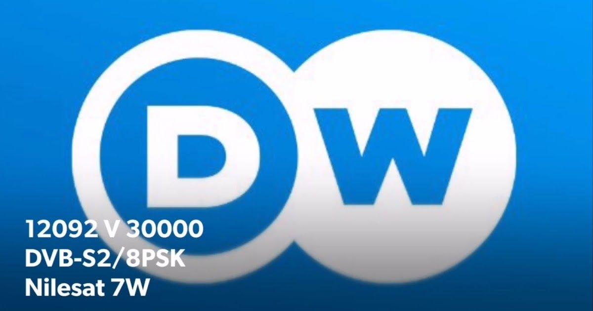 Dw Tv Arabic Frequency On Nilesat 7w New 2019 12092 V 30000 Dvb S2 8psk Nilesat 7w Frequencies Channel Logo Tv