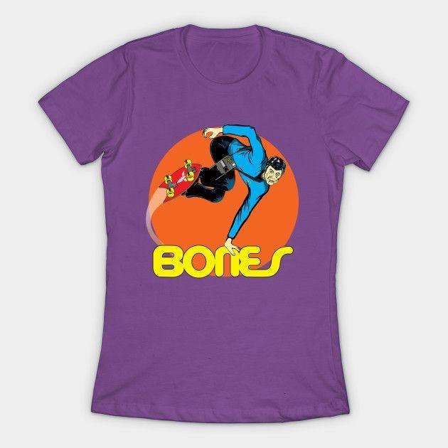 """bones"" Womens T-Shirt"