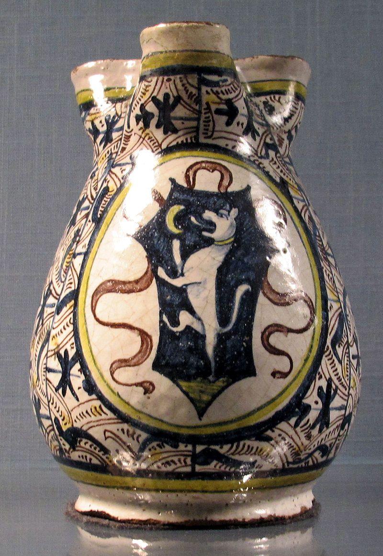 Florence or surroundings, mug Crest perhaps Altoviti, 1460-80 ca..JPG