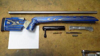 F-Class Open rifle, Barnard P Action GRS Laminate F-Open