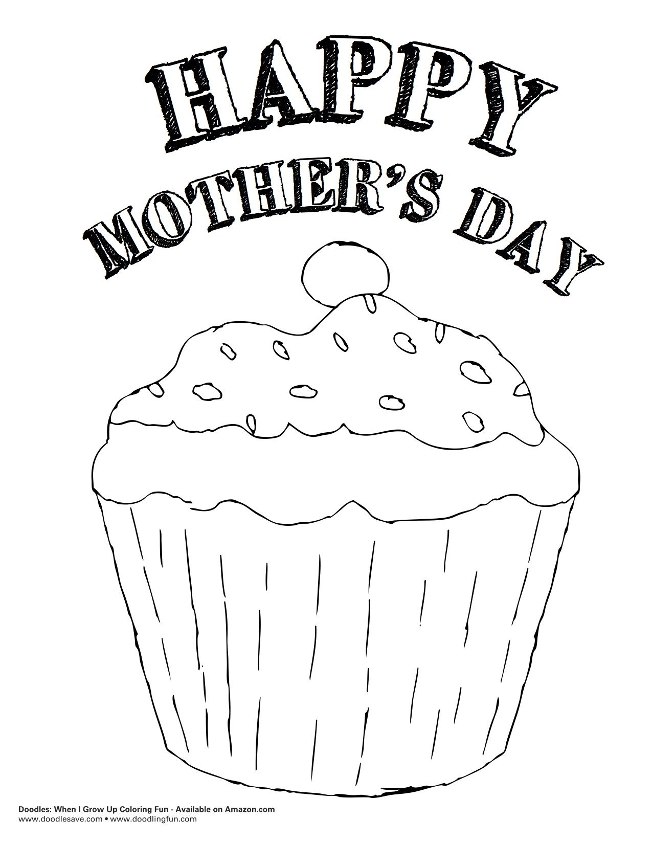 Happy Mother's Day Coloring http://doodlesave.files