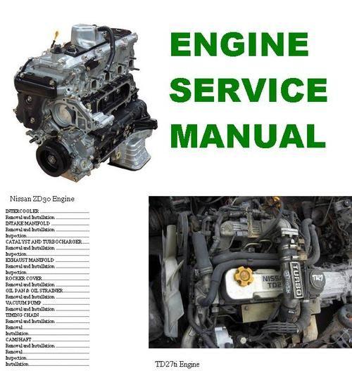 nissan td27 engine manual pdf 1 td27 motor nissan, nissan y motores Nissan Navara D22