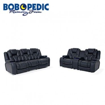Amazing Gladiator Dual Power Reclining Sofa Console Loveseat Short Links Chair Design For Home Short Linksinfo
