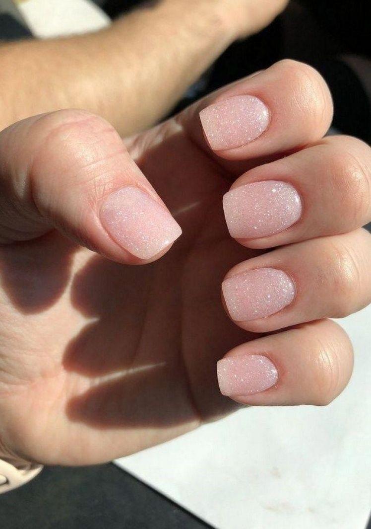Acrylic Nails Designs In 2020 Natural Nails Powder Nails Nail Colors