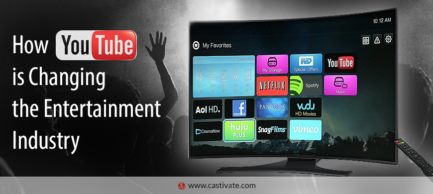 How #youtube is changing the #entertainment #industry @celebcafe  @3seoanalysts