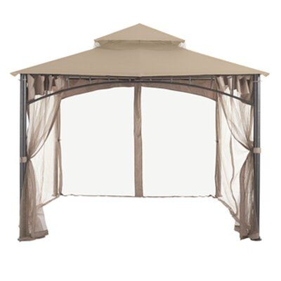 Garden Winds Gardena Gazebo Replacement Canopy Colour Beige Material Riplock 350 Fabric Gazebo Replacement Canopy Replacement Canopy Gazebo