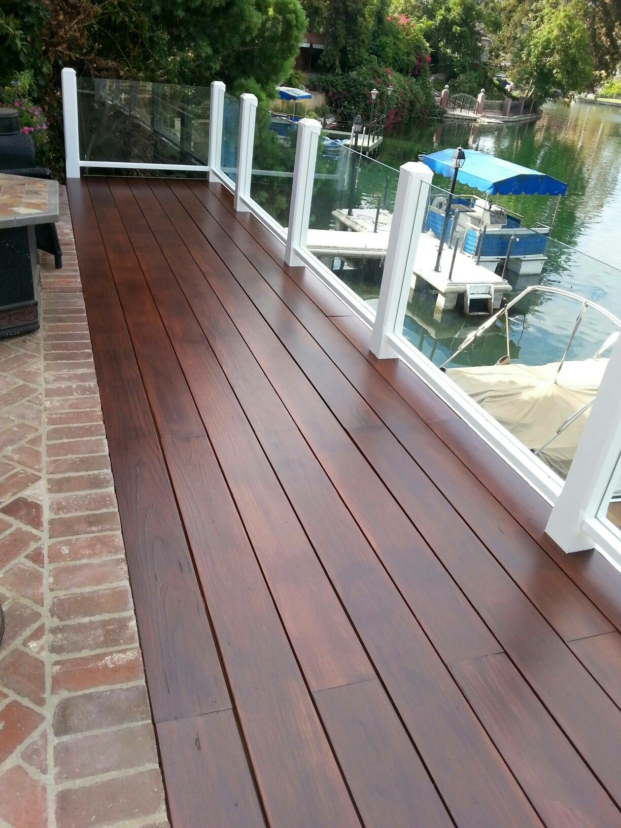 Toluca Lake CA  houses in 2019  Deck stain colors Deck