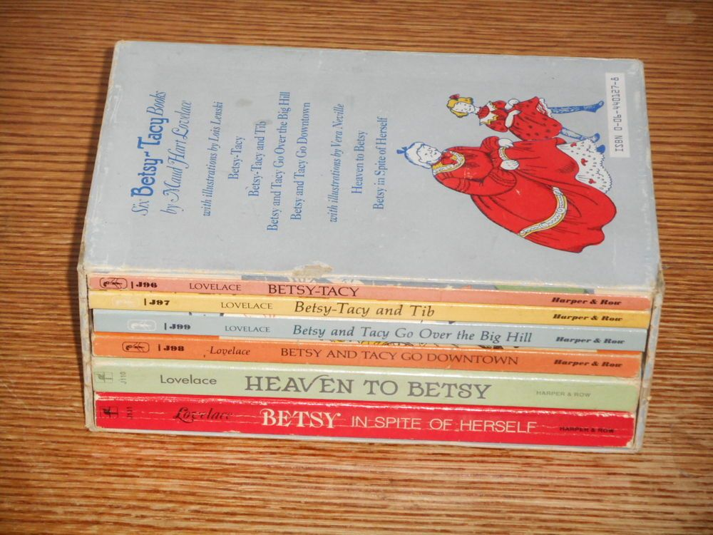 Betsy Tacy Boxed Set 6 PB Maud Hart Lovelace Lois Lenski Heaven to Go Downtown 64401278 | eBay | Betsy, Maud, Hardcover