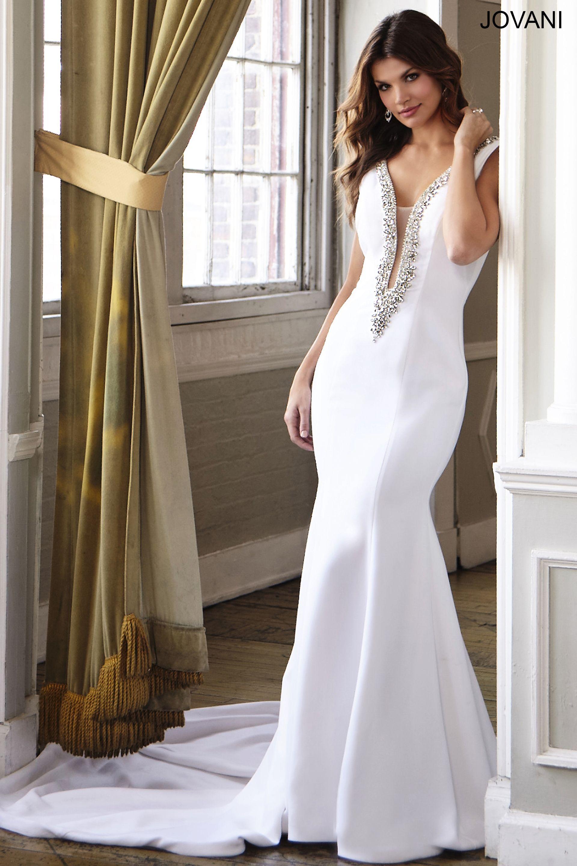 White mermaid dress night dresses pinterest mermaid neckline