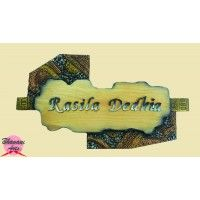 Buy Attractive Name Plates Online And Decor Your Home Entrance With This Name  Plate Design On