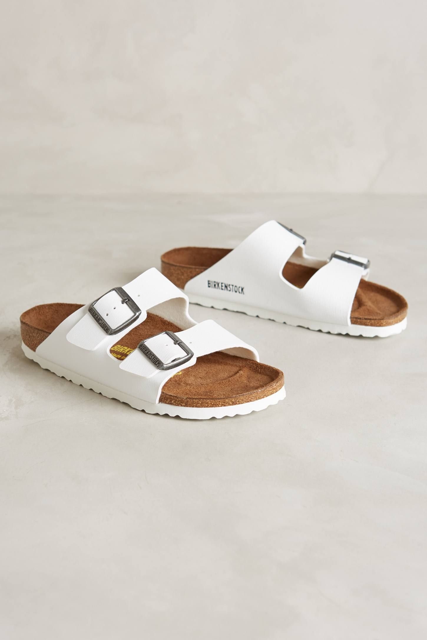 low priced f77af 37d79 White Birkenstock Arizona | Schuhe in 2019 | Schuh stiefel ...