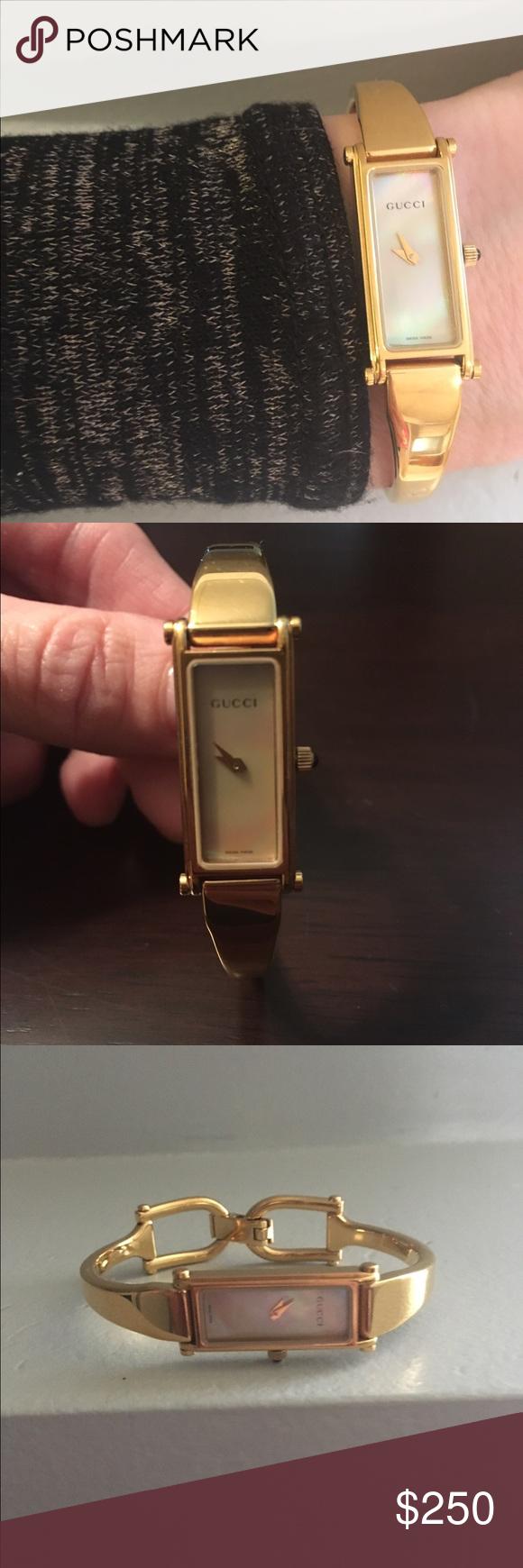 a32ef0de109 Authentic Gucci 1500L ladies gold tone watch. Authentic Gucci 1500 L