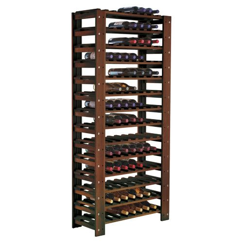 Glenford 126 Bottle Floor Wine Bottle Rack Standing Wine Rack Wine Rack Wine Bottle Rack