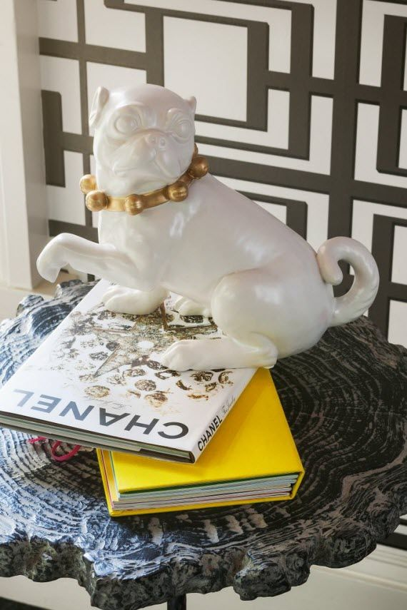 Ceramic Pug Decor Accessory San Francisco Decorator Showcase