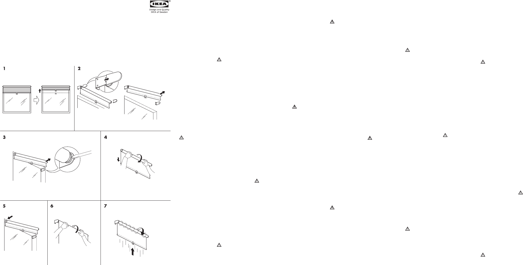 Anleitung Ikea Tupplur Rollo Ikea Produkte Rollos Anleitungen